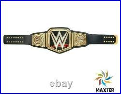 WWE Heavy Weight Championship Wrestling Title Replica 2mm Black Adult Belt WWF