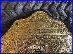WWE Heavyweight Championship Belt Replica- Big Gold WCW WWF Adult