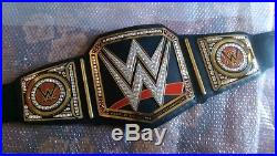 WWE Heavyweight Championship Genuine Leather Title Belt Zinc Alloy & Brass