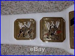 WWE INTERCONTINENTAL IC CHAMPIONSHIP METAL ADULT SIZE RAW REPLICA TITLE BELT wwf