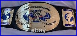 WWE Intercontinental Champion Wrestling Deluxe Replica Title Belt Figures Toy Co