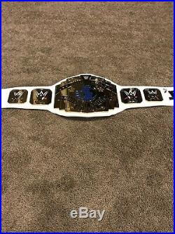 WWE Intercontinental Championship Replica Title Belt Adult Signed By The Miz