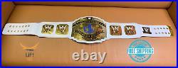 WWE Intercontinental Heavy Weight Championship Replica Title 2014 Belt White 2MM