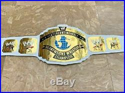 WWE Intercontinental Heavyweight Wrestling Championship Belt. Adult Size. WHITE
