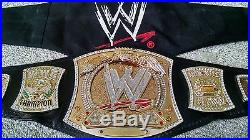 WWE JOHN CENA SPINNER CHAMPIONSHIP ADULT SIZE REPLICA TITLE BELT with METAL PLATES