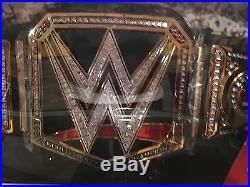 WWE Jakks Authentic Adult Replica World Heavyweight Championship Belt-NIB VHTF