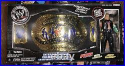 WWE Jakks Exclusive Intercontinental Championship Belt with Jeff Hardy Figure New