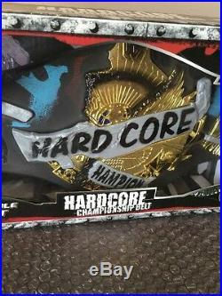 WWE Jakks Pacific Hardcore Championship Belt With Spike Dudley Factory Sealed