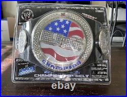 WWE Jakks US CHAMPIONSHIP SPINNER BELT & John Cena withSpinning Championship Belt