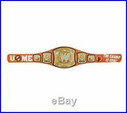 WWE John Cena Signature Series Adult Replica Spinner Belt Championship Title F/S