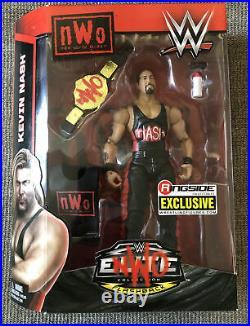WWE Kevin Nash Elite Figure Series Ringside Exclusive Wolfpac NWO WCW Title