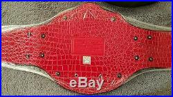 Wwe Licensed Official Heavyweight Commemorative Championship Title Belt