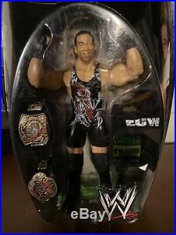 WWE Limited Jakks 1/5000 RVD Rob Van Dam Figure 2 Championship Belts