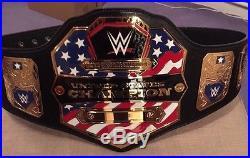 Wwe Matt Hardy Hand Signed United States Championship Title Belt The Hardy Boyz