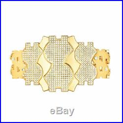 WWE Million Dollar Championship Wrestling Belts Replica Plates Adult Size