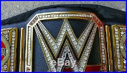 Wwe Network Heavy Weight Championship Belt. Wrestlemaina Side Plates Adult Metal