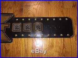 WWE NXT Championship Adult Replica Authentic Title Belt WWF WCW