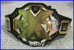 WWE NXT Championship Belt, Real Leather, Adult Size