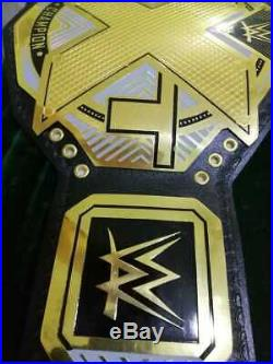 WWE NXT Heavyweight Championship Belt / Real Leather / Adult Size (Replica)