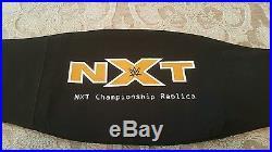 Wwe Nxt Replica Championship Title Belt. Metal Plates