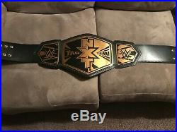 WWE NXT Tag Team Championship Replica Belt with carrying case