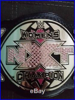 WWE NXT WOMENS CHAMPIONSHIP BELT ADULT Replica Paige Bayley Charlotte Rare WWF