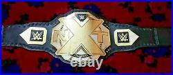 WWE NXT Wrestling Championship Belt Brass Plated Adult Size