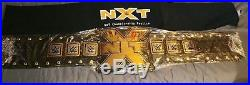 WWE NXT championship belt. New. 2014, official, metal plates, Nakamura, Roode