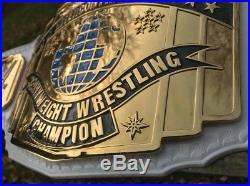 WWE Network Logo Intercontinental 4mm REAL LEATHER championship belt