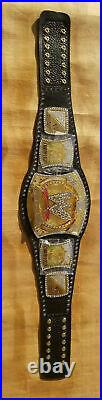WWE New Championship Spinner Replica Title Belt Gold Plated Adult Size Belts