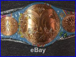 WWE New Day Replica Championship Title Belt Limited Edition Wrestlemania NXT