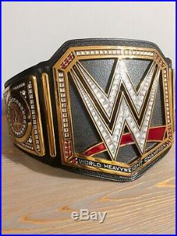WWE Official Authentic Championship Replica Title Belt 2014 Metal Plates Adult