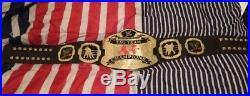 WWE RAW TAG TEAM CHAMPIONSHIP ADULT WRESTLING BELT metal plates