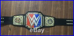 WWE Raw vs Smackdown Championship Belt / Real Leather / Adult Size (Replica)