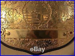 WWE Real World Heavyweight Championship Belt