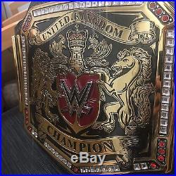 WWE Replica Adult Metal United Kingdom Championship Replica Belt UK Title