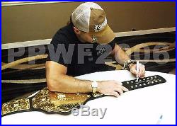 WWE SHAWN MICHAELS SIGNED ADULT WORLD HEAVYWEIGHT CHAMPIONSHIP BELT WithPROOF