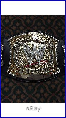 Wwe Spinner Championship Belt Adult. Signed CM Punk, Jeff Hardy Master Series