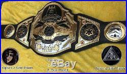 WWE STAR WAR Wrestling Championship Belt Adult 8mm Zinc Plates 5kg weight