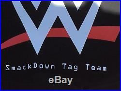 WWE Shop Official Adult Replica Smackdown Tag Team Championship Belt 4MM Plates