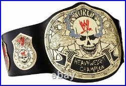 WWE Skull Championship Wrestling Title Belt 100 % geniune