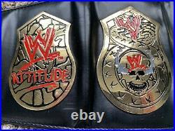 WWE Smoking Skull Heavyweight Championship Adult Size Replica Belt WWF Free S/H