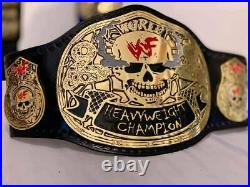 WWE Smoking Skull World Heavyweight Wrestling Replica Title Belt SNAKE skin WWF