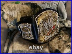 WWE Spinner Championship Belt Fully Loaded
