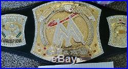 WWE Spinner Championship Replica Belt Adult sized RAW CHAMP Wrestling 56 long