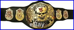 WWE Stone Cold SMOKING SKULL Championship Replica Belt, Real Leather, Full Size