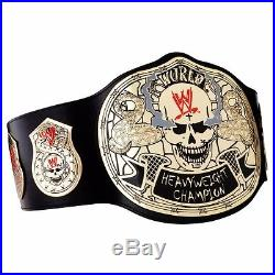 WWE Stone Cold Smoking Skull Championship Adult Size Replica Title Belt