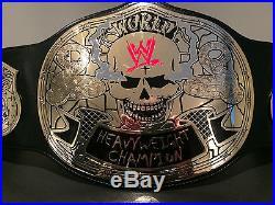 WWE Stone Cold Smoking Skull Championship Adult Size Replica Title Belt MINT