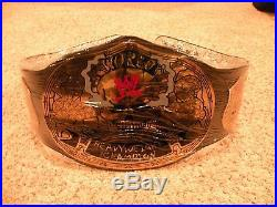 WWE Stone Cold Smoking Skull Championship Adult Size Replica Title Belt with Case