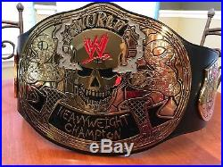 WWE Stone Cold Smoking Skull Championship Replica Title Belt with bag